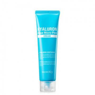 Глубокоувлажняющий крем с гиалуроновой кислотой Secret Key Hyaluron Aqua Micro-Peel Cream, 70 мл, фото 2