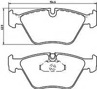 Тормозные колодки BMW 5 (E39) 520I, 523I, 528I, 535I, 525TD, 520D 11/1995-06/2003  дисковые передние,  QF2609E