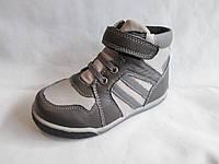 Ботиночки детские оптом, 25-30 р., на шнуровке и липучке, комбинированные хаки