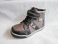 Ботиночки детские оптом, 25-30 р., на шнуровке и липучке, комбинированные
