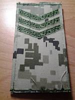 Погоны новые сержант