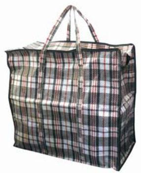 Хозяйственная сумка баул из полипропилена клетка №3 (Клетчатая)