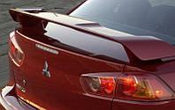 Спойлер на крышку багажника (заводской) Mitsubishi Lancer-10