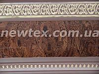 Декоративная лента Флоренция 65 мм Африканский корень с золотым рисунком к потолочному карнизу усиленному СМ