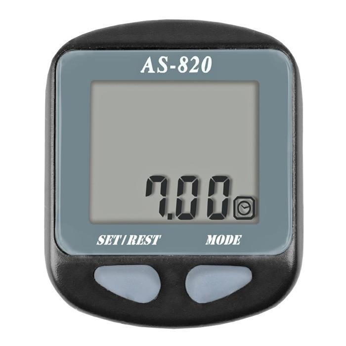 Велокомпьютер, спидометр ASSIZE AS - 820 проводной (11 режимов)