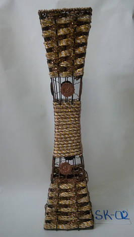 Ваза плетеная,напольная, фото 2