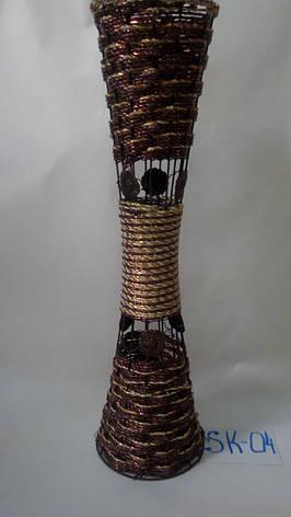 Ваза плетеная , фото 2