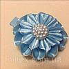 Магнит Цветок №2 голубой