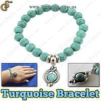 """Браслет-оберег на руку - """"Turquoise Bracelet"""""""