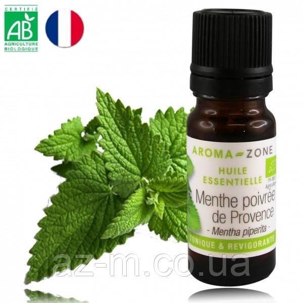 Мята Прованс (Menthe poivrée de Provence) BIO эфирное масло 10 мл