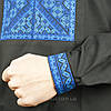 Черная сорочка вышиванка, фото 4