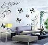 Интерьерные наклейки на стену бабочки и абстракция, фото 3