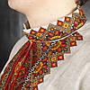 Серая сорочка вишиванка из льна для мужчин, фото 5