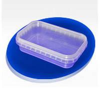 Контейнер пластиковый для пресервов прямоугольный 200мл