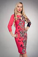 Качественное трикотажное женское платье