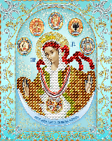 Богородица Слободская Царица Козацкая (серебро)