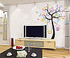 Наклейки разноцветные декор на стену в детскую, фото 4