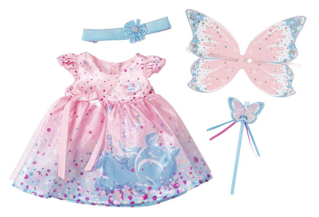 Одежда для кукол Беби Борн комплект одежды Костюм Феи Baby Born Zapf Creation 823644