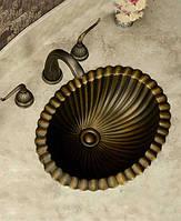 Умывальник медный / бронзовый, раковина из меди Deco BS-Z80372 бронза