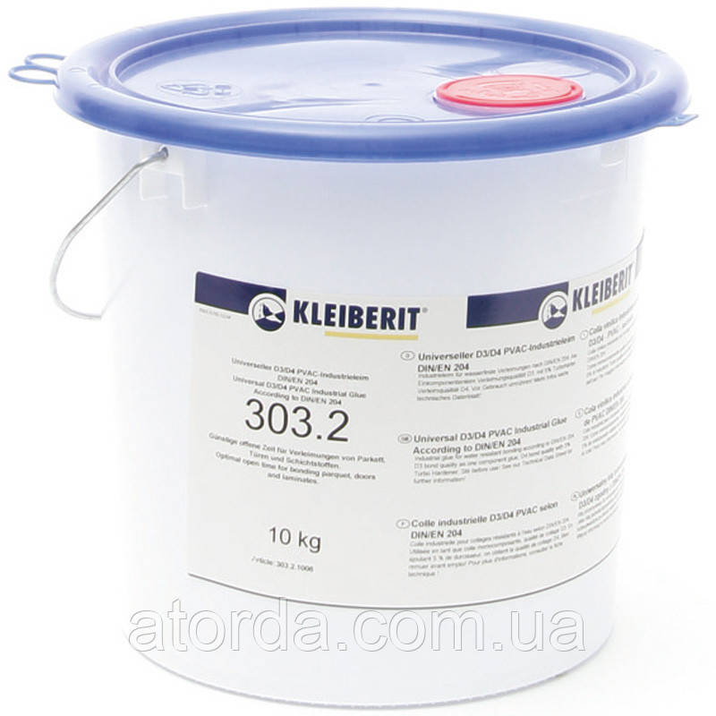 Столярный клей ПВА D3/D4 Kleiberit 303.2 (10 кг)