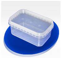 Судок пластиковый пищевой прямоугольный 500мл