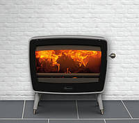 Чугунная печь Dovre Vintage 50/Е12 белая эмаль- 9 кВт