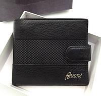 Мужское портмоне Brioni (91004) black