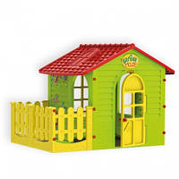 Игровой домик с террасой для детей Mochtoys 10839