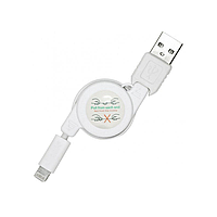 Кабель USB CU-Iphone 5 (рулетка), usb кабель для зарядки iphone 5