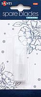 Набор сменных лезвий для макетного ножа 6 шт. 952435, Santi