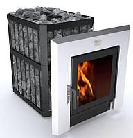 Дровяная печь для бани и сауны Пруток ПКС-02 ПС3