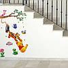 Разноцветные наклейки на стену Винни Пух декор для детей, фото 3