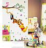 Разноцветные наклейки на стену Винни Пух декор для детей, фото 2