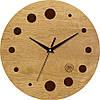 """Часы в провансе 330Х330Х30мм """"Круги"""" [Натуральное дерево, Открытые]"""