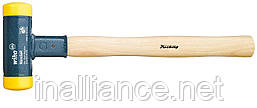 Молоток 30 х 350 мм без отдачи из полиуретана с деревянной рукояткой из кария Wiha 02093