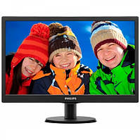 "Монитор 19.5"" Philips V-line 203V5LSB26/10/62 w-LED Black"