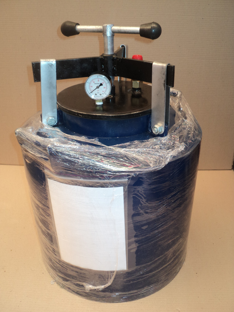 Автоклав для домашнього консервування на 24 літрові банки (горловина 215 мм)