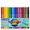 Фломастеры Centropen 18 цветов Colour World