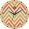 """Настенные часы 240Х240Х30мм """"Зигзаги"""" [МДФ, Открытые]"""