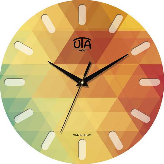 Настенные часы круглые 240Х240Х30мм [МДФ, Открытые]