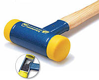 Молоток 30 х 350 мм без отдачи из полиуретана с деревянной рукояткой из кария Wiha 02093, фото 1
