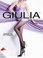 Женские колготки в черный горошек Giulia AMALIA 20 den