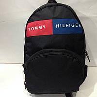 Рюкзак черный городской спортивный мужской Tommy Hilfiger  оптом