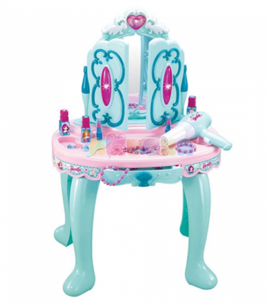 Трюмо для девочки 008-906 столик, зеркало, аксессуары