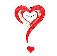 Романтические Настенные Часы Валентинка в Виде Сердца