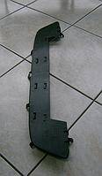 Защита (дефлектор) радиатора (накладка переднего бампера) черная GM 1400735 24460274 OPEL ASTRA-H до 2007 года