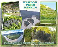 Природа Днестровского каньона.