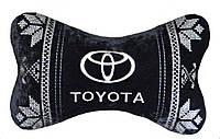 Автомобильная подушка под шею подголовник Бабочка