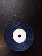 Лента атласная(синий) 6 мм.