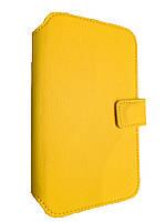 Чехол- книжка на телефон Lenovo A516, A390, A376, A850, K900 желтый